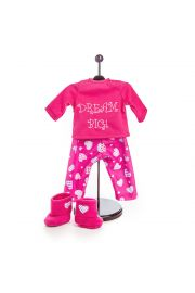 "Dream Big Pajama's for 18"" doll clothes. High Quality Doll Clothes & Accessories for 18"" dolls Fits American Girl¬ Doll Clothes"