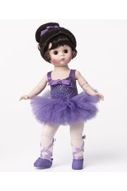 Pirouette in Purple Ballerina Doll