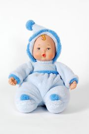 Powder Blue Baby Boy Doll