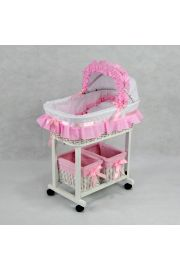 Julia Wicker Doll Bed Crib