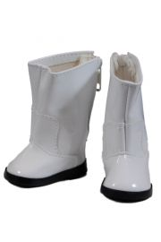 White Go Go Boots for American Girl Dolls