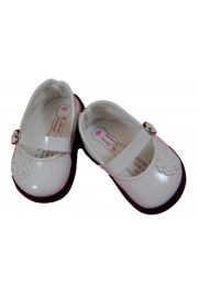 White Dress Shoes for American Girl Dolls