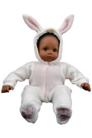 Bunny Romper fits 15in Bitty Baby Doll