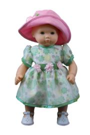 Floral Dress fits 18in American Girl Doll Clothes