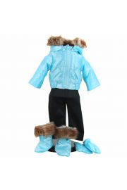 "Blue Snow Suit For 15""  Baby Dolls,  Doll clothes,"