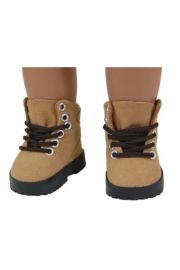 "Hiking boots for  Dolls and High Quality Doll Clothes & Accessories for 18"" dolls,"