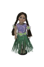 "Hula Swim Outfit fits 18"" Dolls like American Girl¬ Dolls High Quality Doll Clothes & Accessories for 18"" dolls Fits American Girl¬ Doll Clothes"