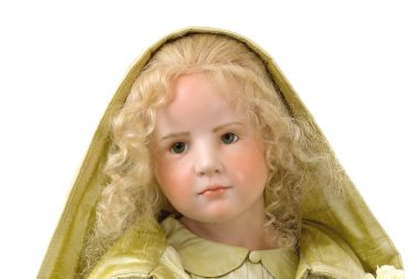Collectible Limited Edition Wax over Porcelain doll Stephana by Hildegard Gunzel