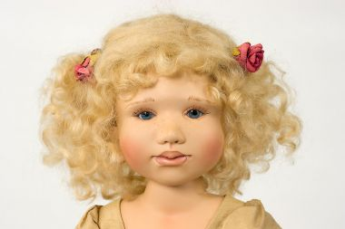 Collectible Limited Edition Porcelain soft body doll Lydia by Berdine Creedy