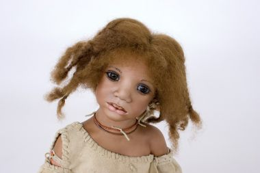 Collectible Limited Edition Porcelain doll Mayuki by Annette Himstedt