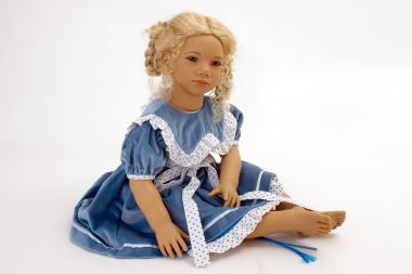 Collectible Limited Edition Vinyl soft body doll Alke by Annette Himstedt