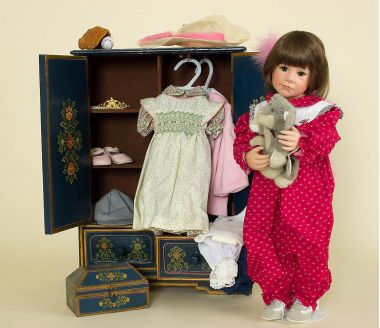 Collectible Limited Edition Vinyl doll Play With Me by Julie Good Krueger