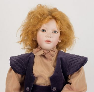 Collectible Limited Edition Porcelain doll Ontje by Annette Himstedt
