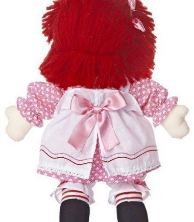 Photo of Raggedy Ann Valentine 16 inch rag doll by Aurora.