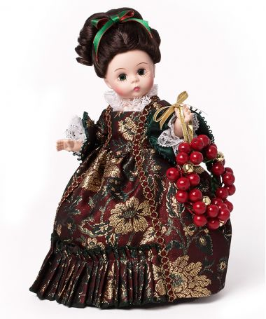 Colonial Christmas, Holiday Doll