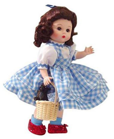 Collectible   doll Dorothy 2008 by Madame Alexander