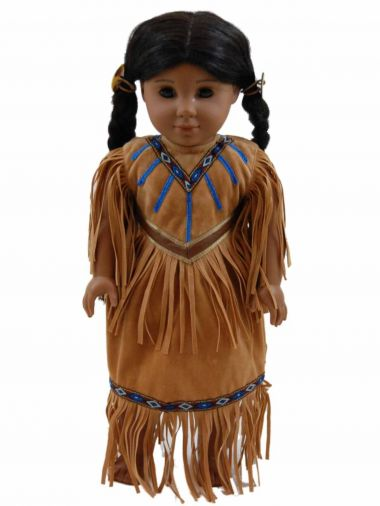 Native American Outfit For 18 Dolls Amp American Girl 168