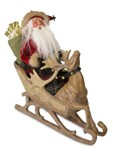 Image of Storybook Santa caroler figurine by Byers' Choice, Ltd.
