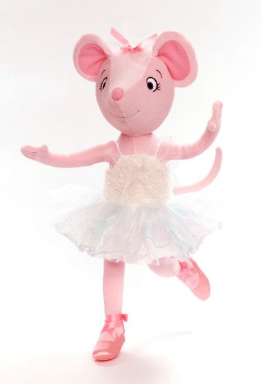 Main image of Swan Lake Angelina Ballerina plush doll by Madame Alexander
