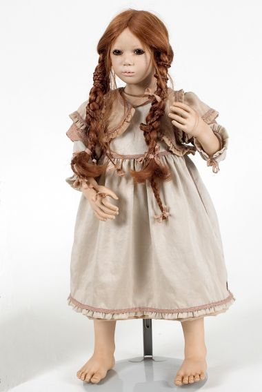 Collectible Limited Edition Porcelain doll Jalisa by Annette Himstedt