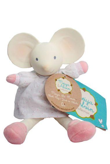 Image of Meiya Mouse mini plush toy.