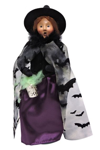 Photo of Witchy Woman caroler figurine by Byers' Choice