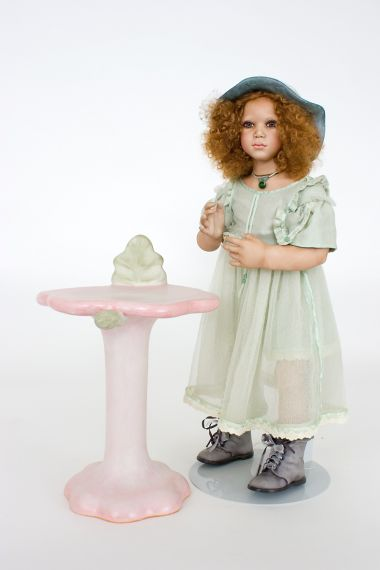 Collectible Limited Edition Porcelain doll Sali by Annette HImstedt