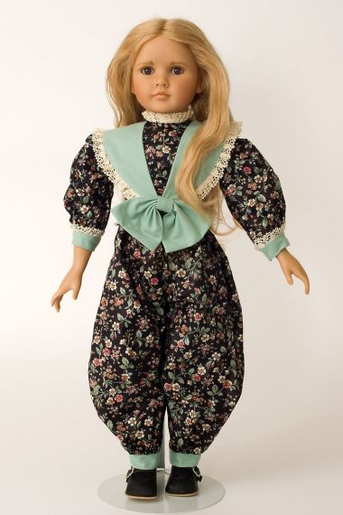 Collectible Limited Edition Vinyl soft body doll Carrie by Linda Mason