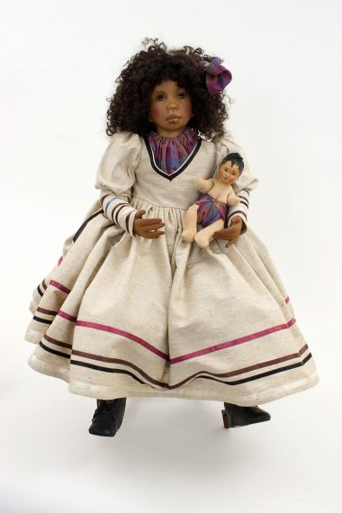 Collectible Limited Edition Other Media doll Philadelphia Girl by Linda Murray