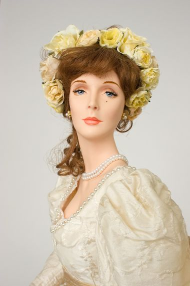 Collectible Limited Edition Wax doll Buttercup Bride by Paul Crees and Peter Coe