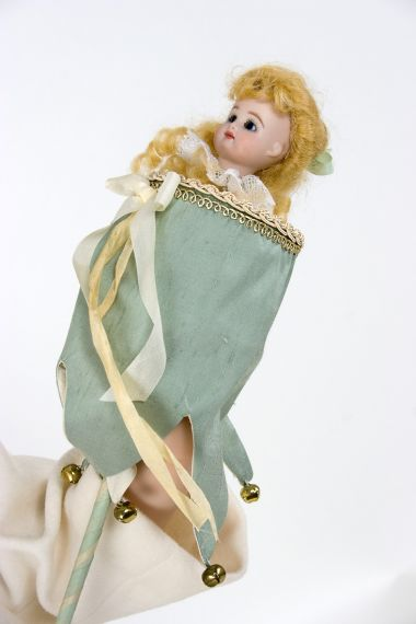 Collectible Limited Edition Wax over Porcelain doll Eleanor by Hildegard Gunzel
