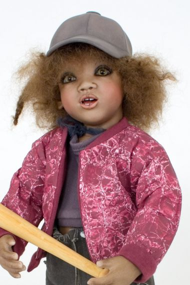 Collectible Limited Edition Porcelain doll Jali by Annette Himstedt