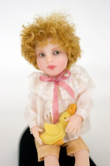 Collectible Limited Edition Resin doll Oscar by Avigail Brahms