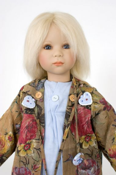 Collectible Limited Edition Vinyl soft body doll Max by Annette Himstedt