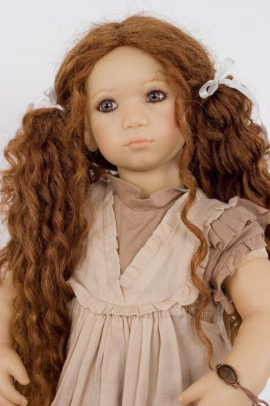 Collectible Limited Edition Vinyl soft body doll Esme by Annette Himstedt