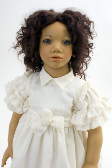 Collectible Limited Edition Vinyl soft body doll Minou by Annette Himstedt
