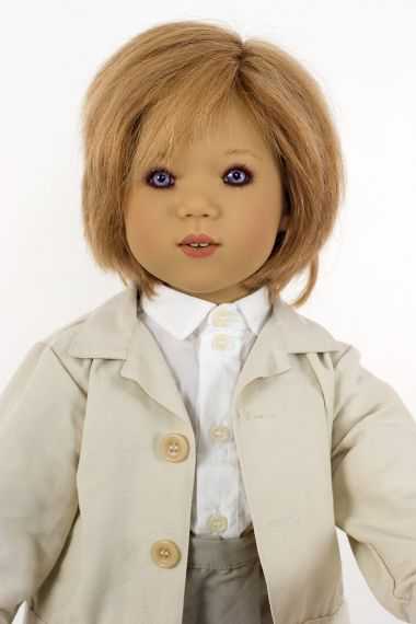 Collectible Limited Edition Vinyl soft body doll Emil by Annette Himstedt