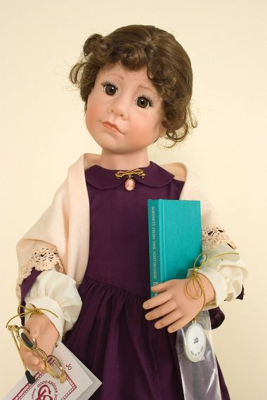 Collectible Limited Edition vinyl doll Jo by Julie Good Krueger