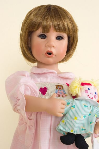Collectible Limited Edition Vinyl doll Good Friends by Julie Good Krueger