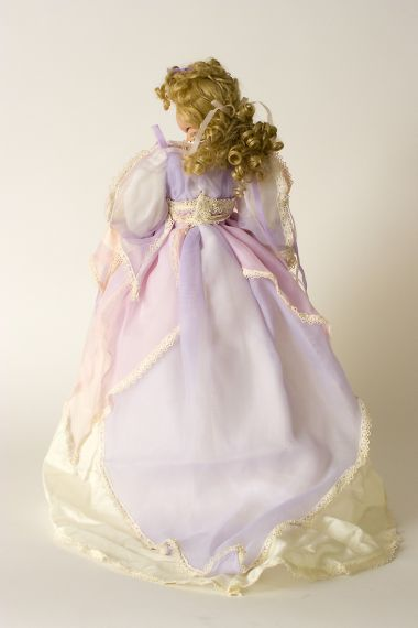 Tatiana - limited edition porcelain soft body collectible doll  by doll artist Michelle Severino.