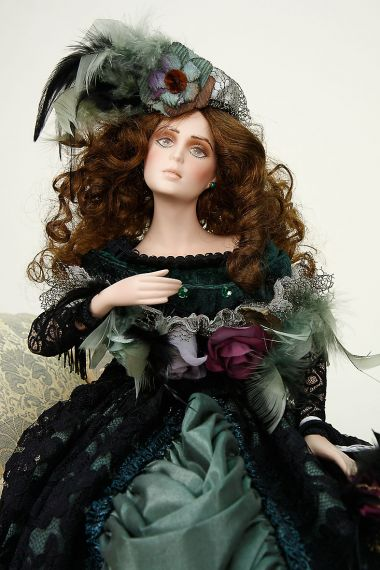 Zoe Porcelain Soft Body Limited Edition Collectible Doll