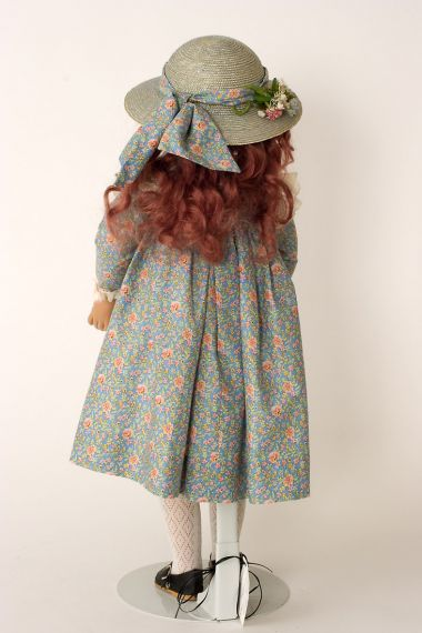 Collectible Limited Edition Vinyl soft body doll Melanie by Linda Mason
