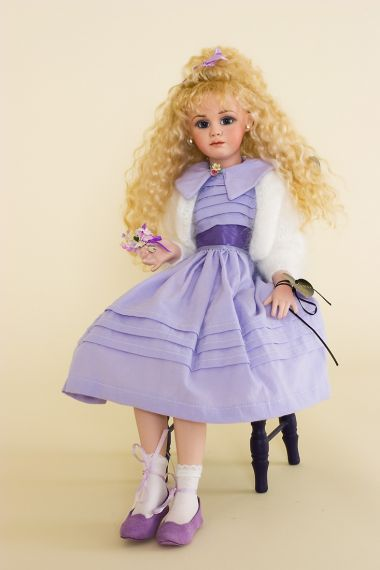 Collectible Limited Edition Porcelain doll Primrose II Pink Dress by Jan McLean