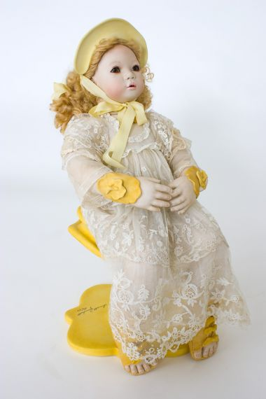 Collectible Limited Edition Porcelain doll Emmi by Annette Himstedt
