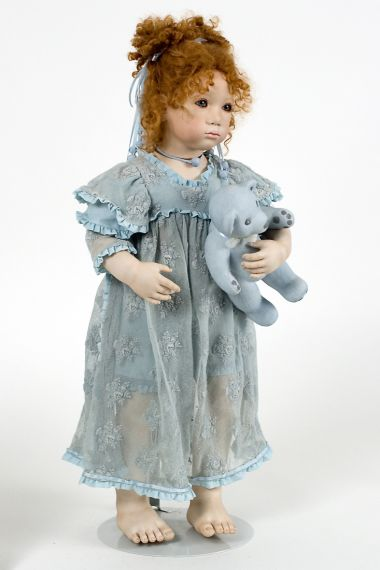Collectible Limited Edition Porcelain doll Alina by Annette Himstedt