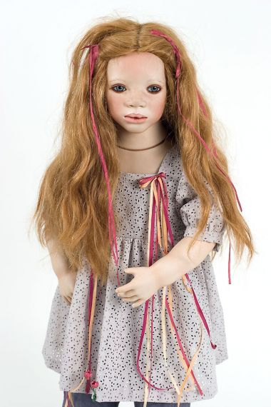 Collectible Limited Edition Porcelain doll Mela by Annette Himstedt