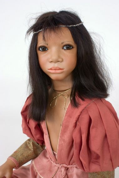 Collectible Limited Edition Porcelain doll Jondal by Annette Himstedt