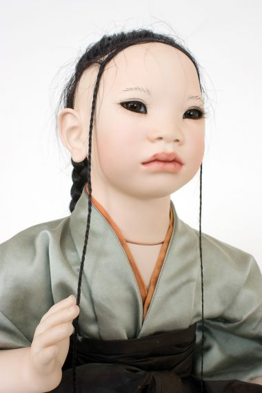 Collectible Limited Edition Porcelain doll Ling by Annette Himstedt