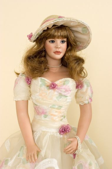 Collectible Limited Edition Porcelain soft body doll Shannon by Gwen McNeill