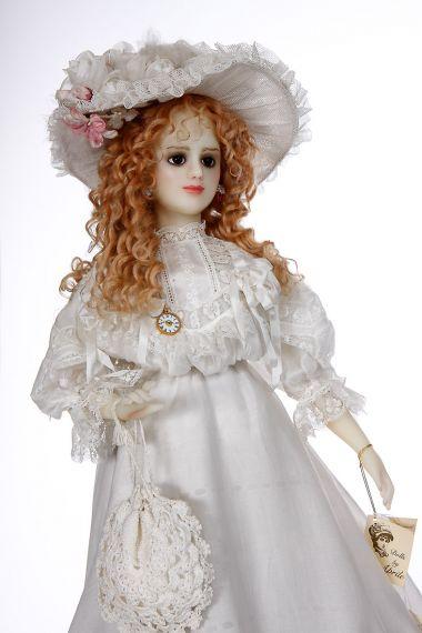 Wax Lady Wax Soft Body Art Doll By Paulette Aprile